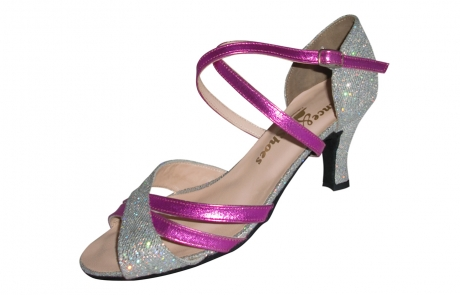 dance and shoes metz chaussure personnalisable Mila fuschia
