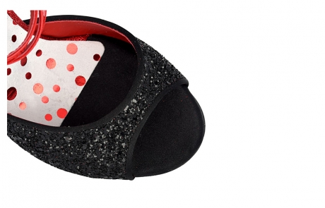 dance and shoes metz chaussure personnalisable danse et ville a1cl-glitter-nero-glitterino-rosso tacco-9-AV