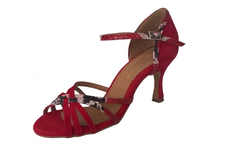 dance and shoes metz chaussure personnalisable rummos Marylin vipere rouge danse ville